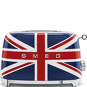 50's Style Two-slice toaster British flag - small image