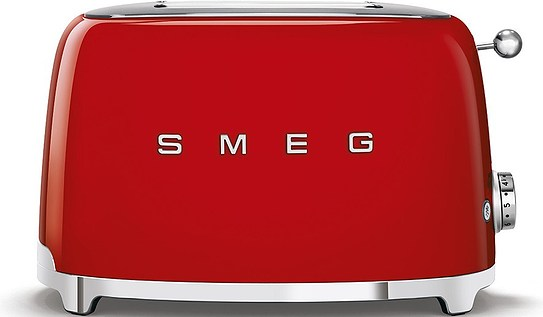 50's Style Two-slice toaster red