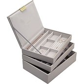 Stackers Triple classic jewelry box