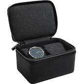 Stackers Wristwatch travel case two-chamber