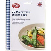 Steam bags in microwave oven 25 pcs.