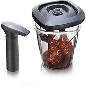 Instant Marinater Pickling container with pump