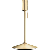 Champagne Lamp base brushed brass with a USB port