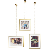 Fotochain Picture frame for 3 el.