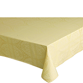 Easter Damask Yellow tablecloth